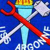 USS Argonne AS-10 Patch | Center Detail
