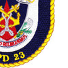 USS Anchorage LPD 23 Amphibious Transport Dock Ship Patch | Lower Right Quadrant