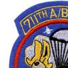 711th Airborne Ordnance Battalion Patch | Upper Left Quadrant
