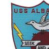 USS Albatross MSC 289 Seek And Destroy Patch | Upper Left Quadrant