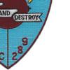 USS Albatross MSC 289 Seek And Destroy Patch | Lower Right Quadrant