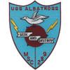 USS Albatross MSC 289 Seek And Destroy Patch