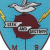 USS Albatross MSC 289 Seek And Destroy Patch | Center Detail
