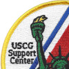 U.S. Coast Guard Support Center New York Patch | Upper Left Quadrant