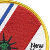 U.S. Coast Guard Support Center New York Patch | Upper Right Quadrant
