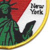 U.S. Coast Guard Support Center New York Patch | Lower Right Quadrant