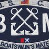 U.S. Coast Guard BM-Boatswains Mate Patch | Center Detail
