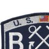 U.S. Coast Guard BM-Boatswains Mate Patch | Upper Left Quadrant