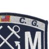 U.S. Coast Guard BM-Boatswains Mate Patch | Upper Right Quadrant