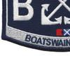 U.S. Coast Guard BM-Boatswains Mate Patch | Lower Left Quadrant