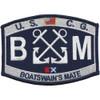 U.S. Coast Guard BM-Boatswains Mate Patch