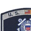 USCG Retired Veteran Patch | Upper Left Quadrant