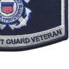 USCG Retired Veteran Patch | Lower Right Quadrant