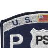 USCG Port Security Specialist MOS Patch | Upper Left Quadrant