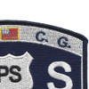 USCG Port Security Specialist MOS Patch | Upper Right Quadrant