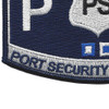 USCG Port Security Specialist MOS Patch | Lower Left Quadrant