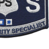 USCG Port Security Specialist MOS Patch | Lower Right Quadrant