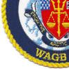 USCGC Healy WAGB-20 Patch   Lower Left Quadrant
