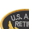 U.S. Army Retired Patch | Upper Left Quadrant