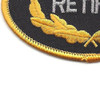 U.S. Army Retired Patch | Lower Left Quadrant