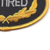 U.S. Army Retired Patch | Lower Right Quadrant