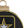 U.S. Army Emblem Christmas Tree Ornament | Upper Right Quadrant