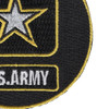 U.S. Army Emblem Christmas Tree Ornament | Lower Right Quadrant