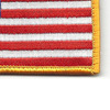 U.S. American Flag Patch Hook & Loop Backing | Lower Right Quadrant