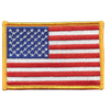 U.S. American Flag Patch Hook & Loop Backing