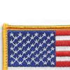U.S. American Flag Patch Hook & Loop Backing | Upper Left Quadrant