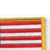 U.S. American Flag Patch Hook & Loop Backing | Upper Right Quadrant