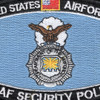 US Air Force MOS Security Police Patch | Center Detail