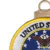U.S. Air Force Emblem Christmas Tree Ornament | Upper Left Quadrant