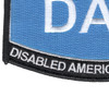 US Air Force DAV Disabled American Veteran Patch | Lower Left Quadrant