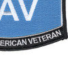 US Air Force DAV Disabled American Veteran Patch | Lower Right Quadrant