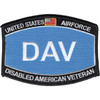 US Air Force DAV Disabled American Veteran Patch