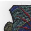 U.S. Air Force Communications Command OD Patch   Upper Left Quadrant