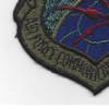 U.S. Air Force Communications Command OD Patch   Lower Left Quadrant