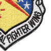 USAF 474th Tactical Fighter Wing Patch | Lower Right Quadrant