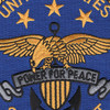 United States Sixth Fleet Patch | Center Detail