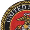 United States Marine Corps Small Emblem Patch | Upper Left Quadrant