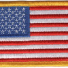 United States Flag Patch | Center Detail