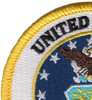 United States Air Force Crest Patch - Military Service Mark | Upper Left Quadrant