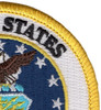 United States Air Force Crest Patch - Military Service Mark | Upper Right Quadrant