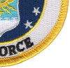 United States Air Force Crest Patch - Military Service Mark | Lower Right Quadrant