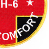 USS Comfort AH-6 Hospital Ship Patch   Lower Right Quadrant