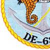 USS Coates DE-685 Destroyer Escort Ship Patch | Lower Left Quadrant