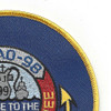USS Caloosahatchee AO 98 Auxiliary Oiler Ship Second Version Patch | Upper Right Quadrant