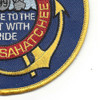 USS Caloosahatchee AO 98 Auxiliary Oiler Ship Second Version Patch | Lower Right Quadrant