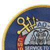 USS Caloosahatchee AO 98 Auxiliary Oiler Ship Second Version Patch | Upper Left Quadrant